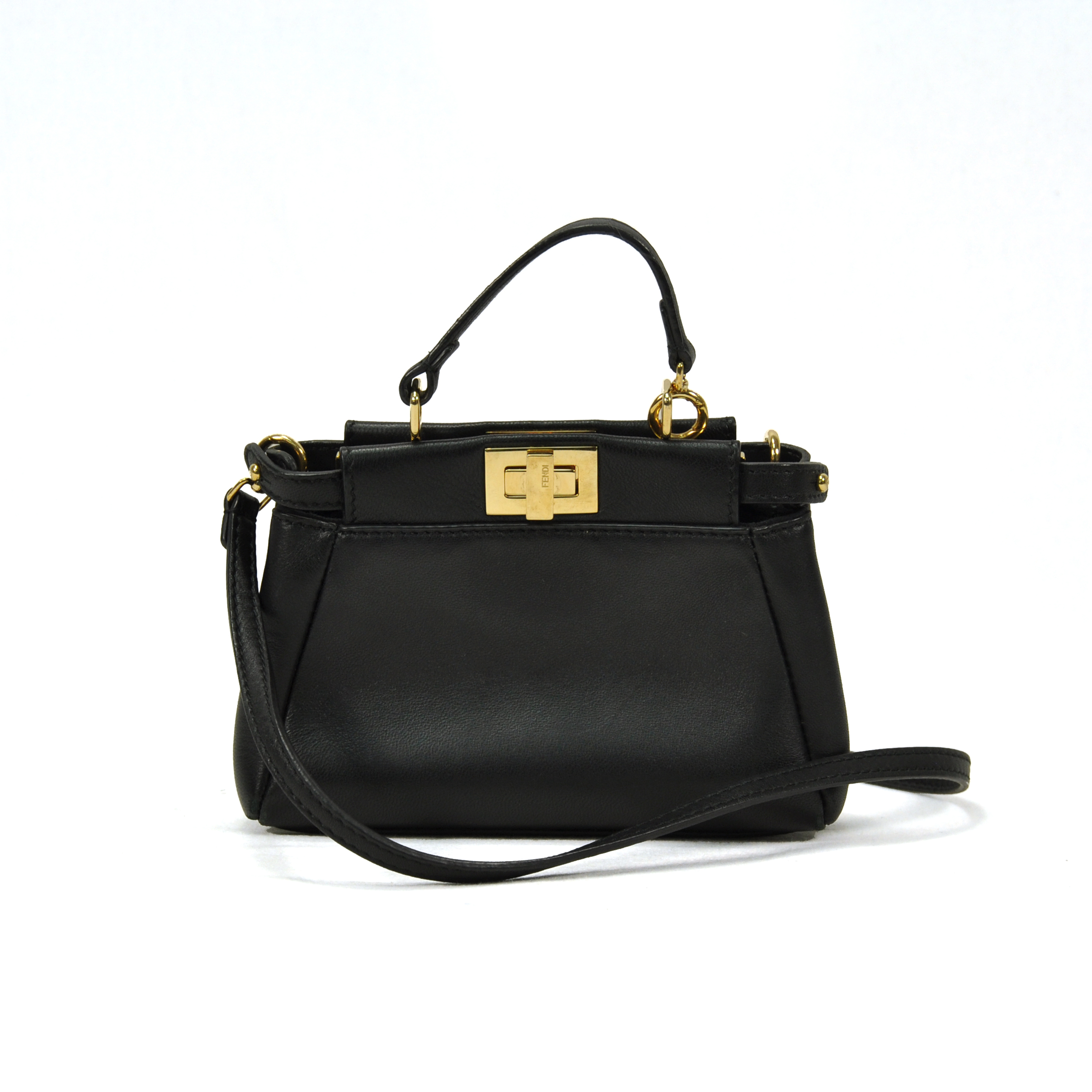 165d63d637 Authentic Second Hand Fendi Micro Peekaboo (PSS-347-00001)