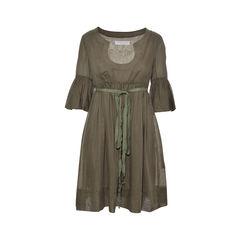 Army Green Cotton Dress