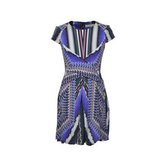 Mira Printed Dress