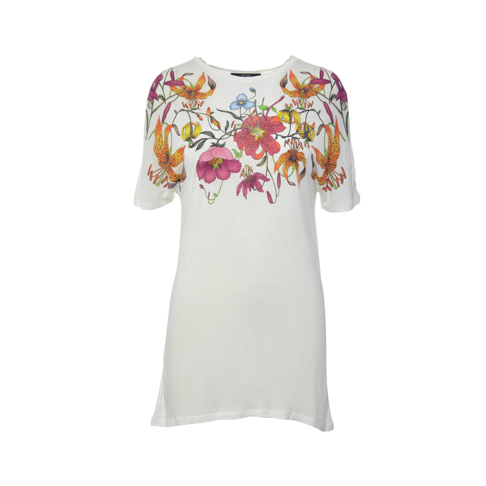 8b790b2d3 Authentic Second Hand Gucci Floral Print T-Shirt (PSS-240-00136) .