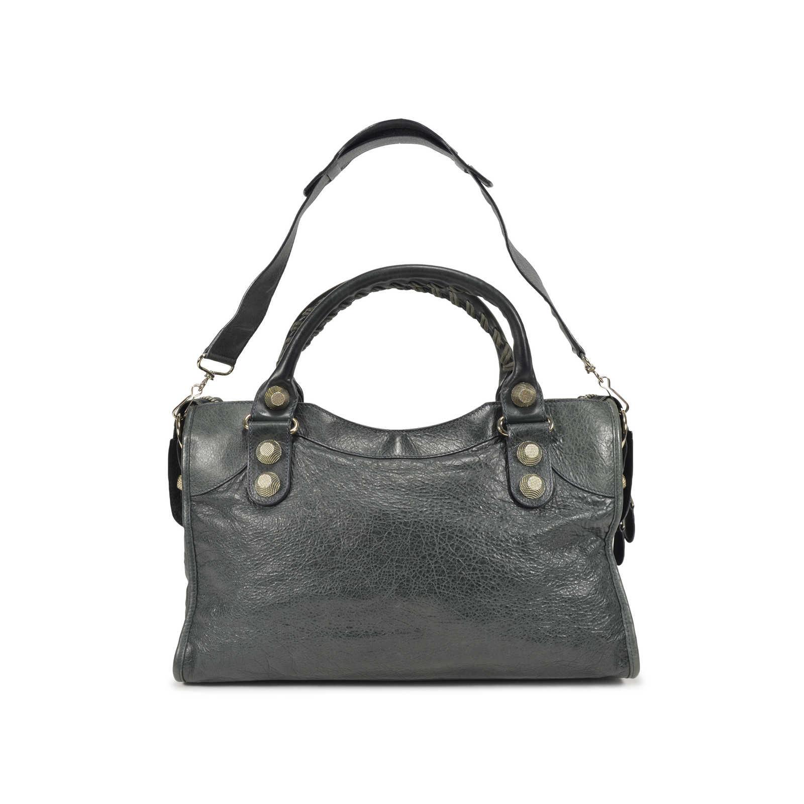 d9dd903e6f9e ... Authentic Second Hand Balenciaga Giant City Anthracite Bag  (PSS-021-00013) ...