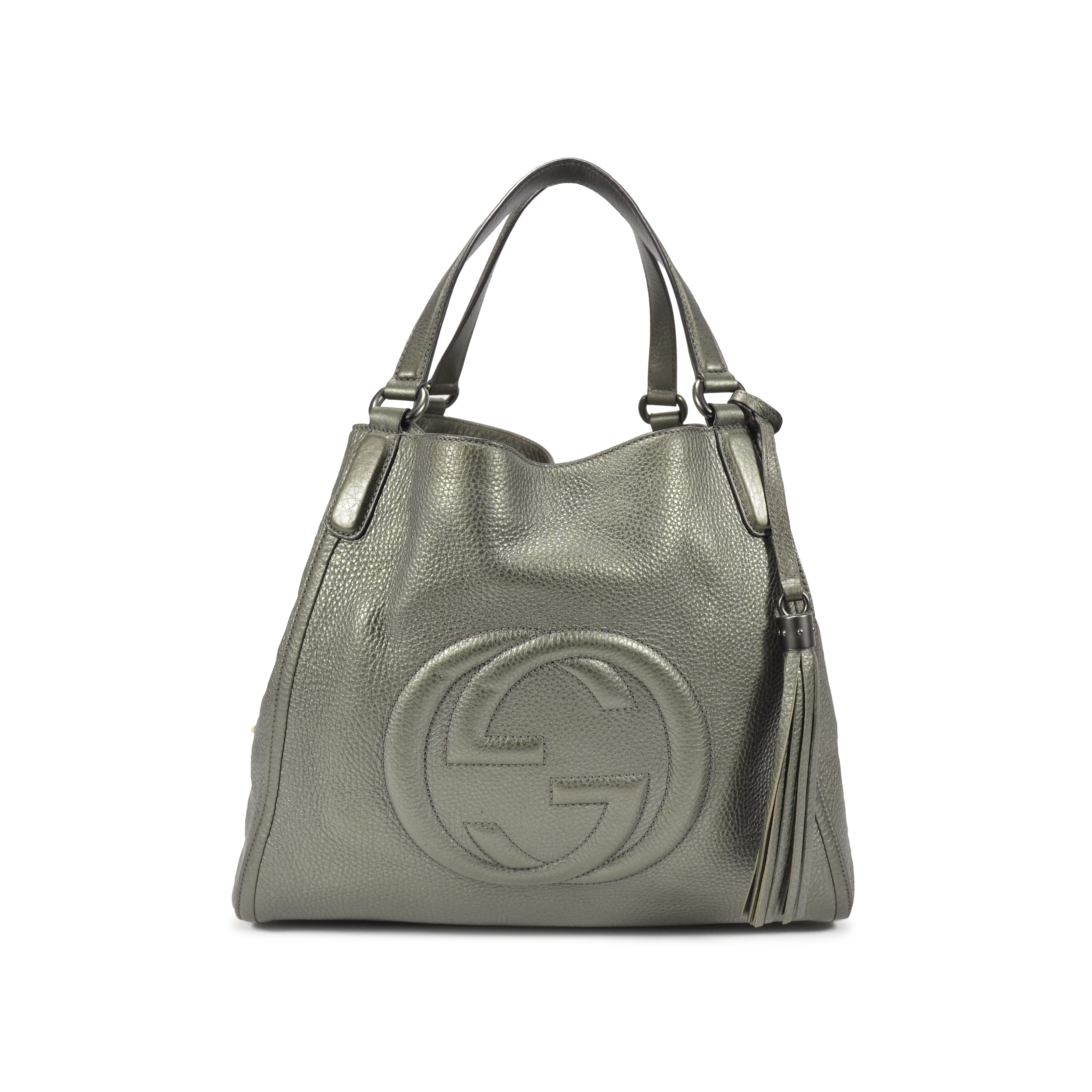 ed8312ae3a3 Authentic Second Hand Gucci Medium Soho Shoulder Bag (PSS-021-00011 ...