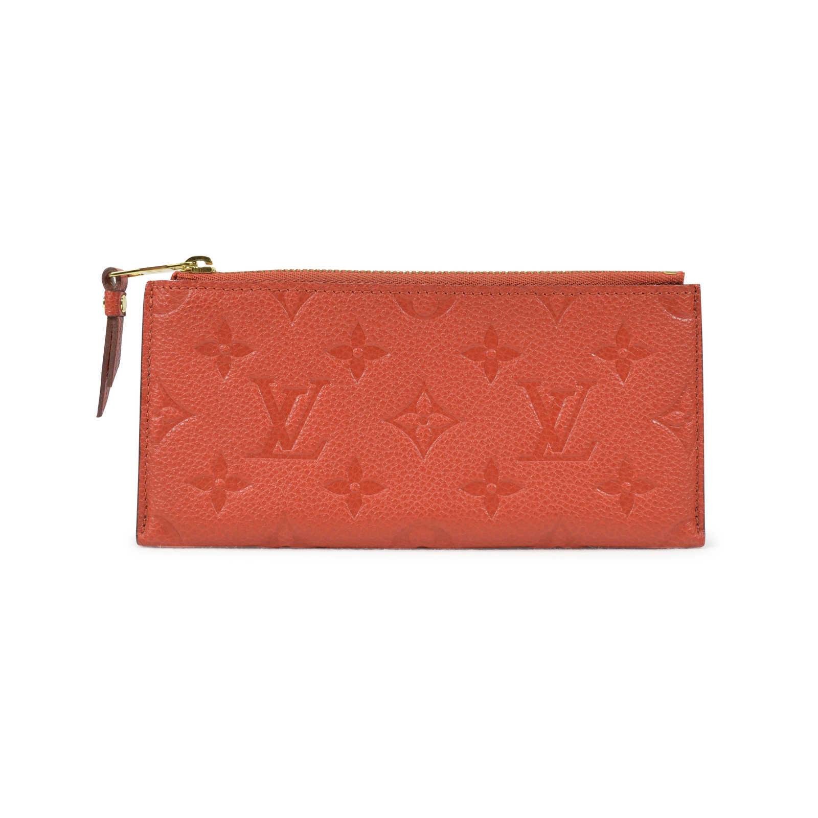 d4de0f9ded3b ... Authentic Second Hand Louis Vuitton Monogram Empreinte Curieuse Wallet  (PSS-021-00016) ...