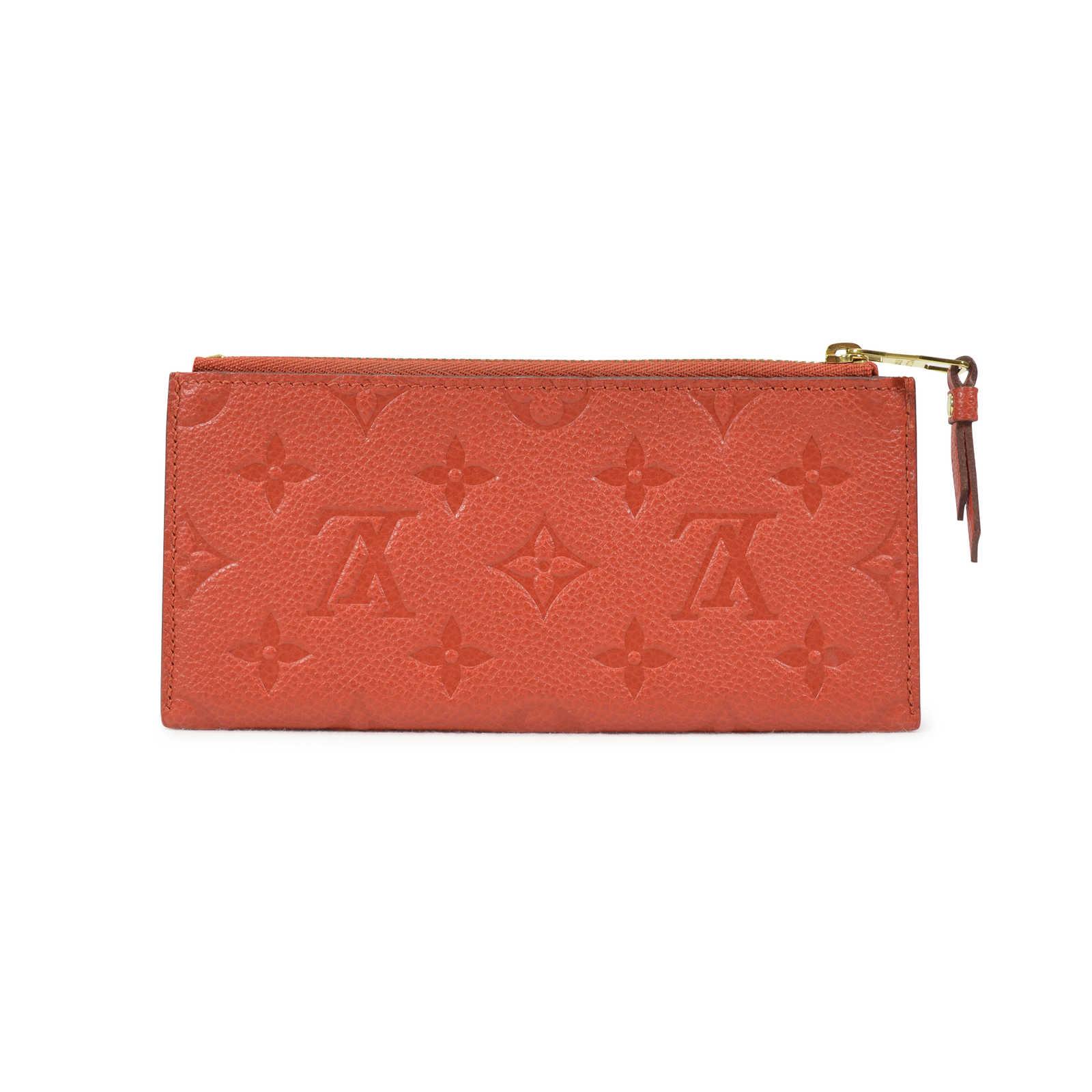 25041b0799b65 ... Authentic Second Hand Louis Vuitton Monogram Empreinte Curieuse Wallet  (PSS-021-00016) ...