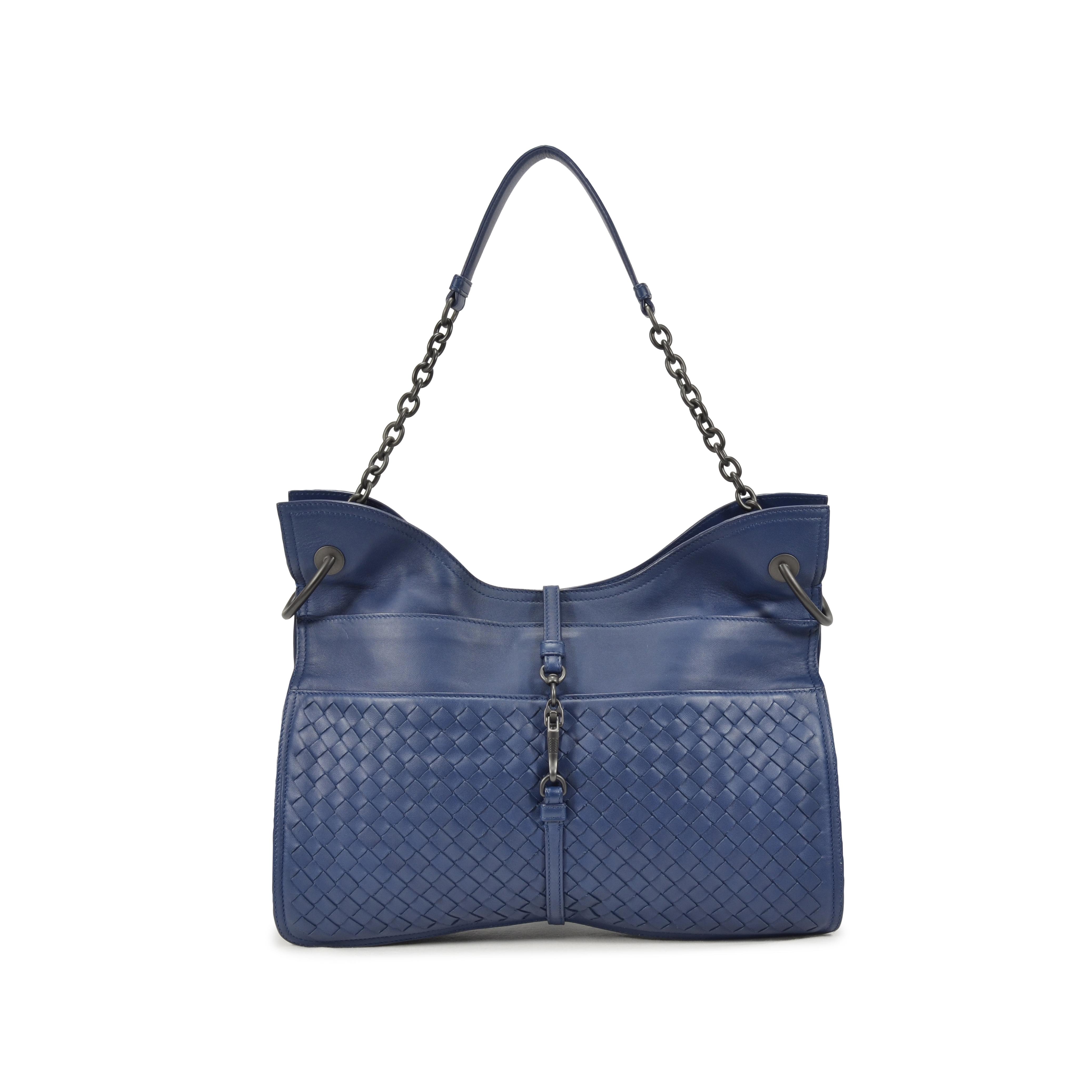 f7db3aa016 Authentic Second Hand Bottega Veneta Beverly  71  16 Intrecciato Nappa Bag  (PSS-021-00010)