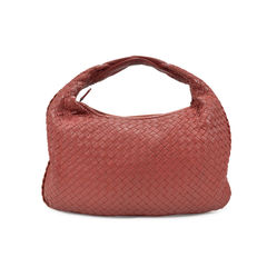 Intrecciato Leather Weave Hobo Bag