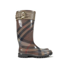 Burberry stelling smoked check bimaterial rainboot 2?1496032174