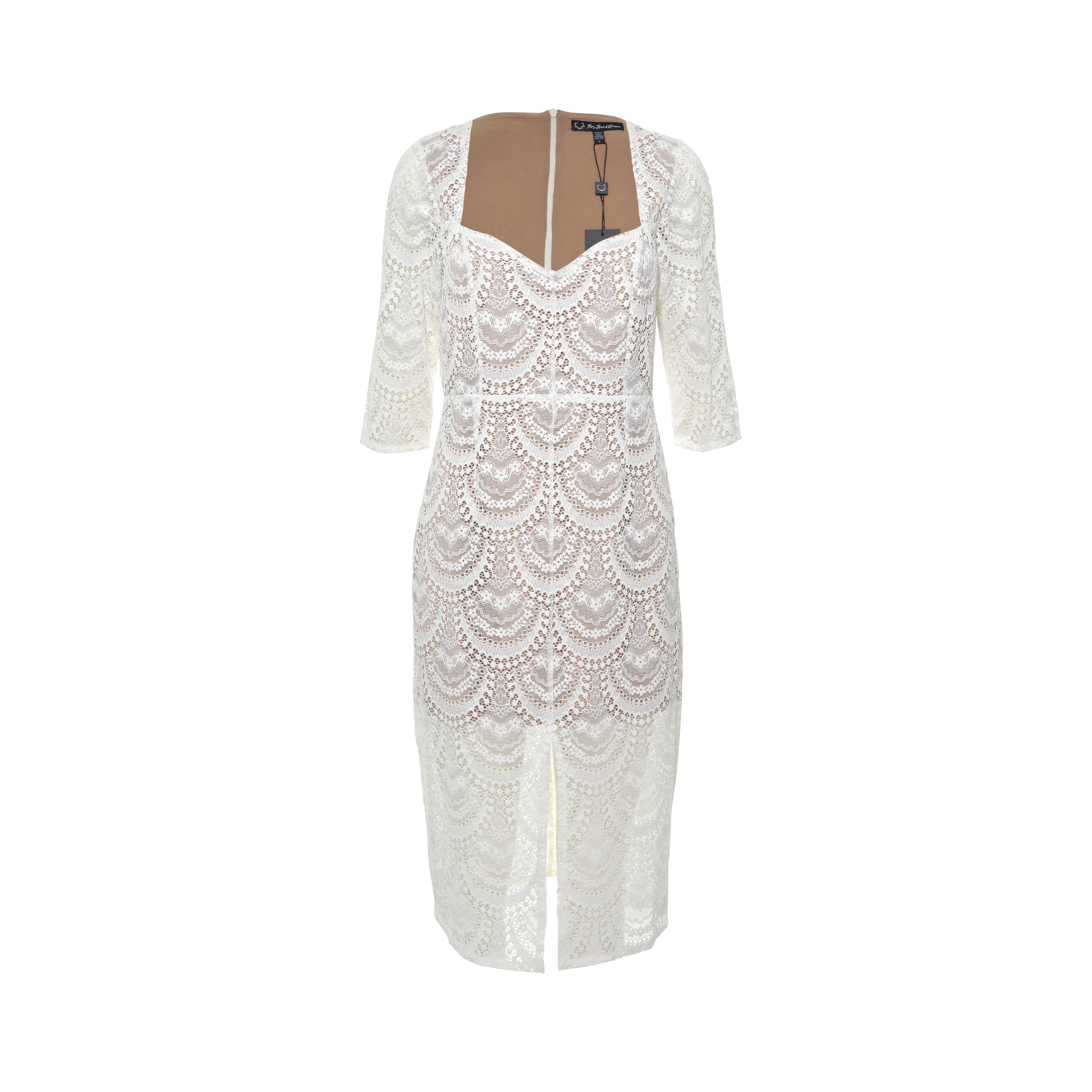 Authentic Second Hand For Love And Lemons White Lace Dress Pss 288 00014 The Fifth Collection