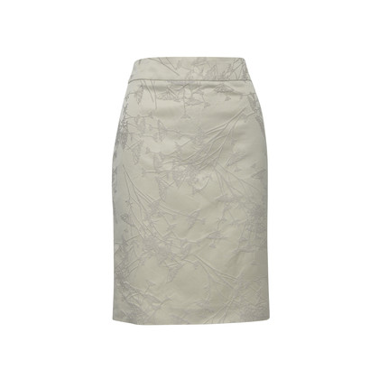 Authentic Second Hand Armani Embroidered Straight Cut Skirt (PSS-336-00014)