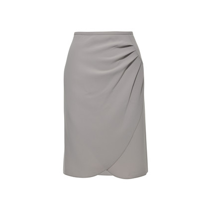 Authentic Second Hand Armani Asymmetrical Foldover Skirt (PSS-336-00015)