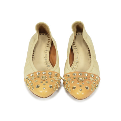 Authentic Second Hand Givenchy Studded Ballet Flats (PSS-340-00012)