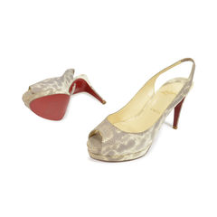 Christian louboutin lizard catenita platform pumps 2?1496121150