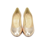 Authentic Second Hand Christian Louboutin Simple Metallic Pumps (PSS-340-00017) - Thumbnail 0