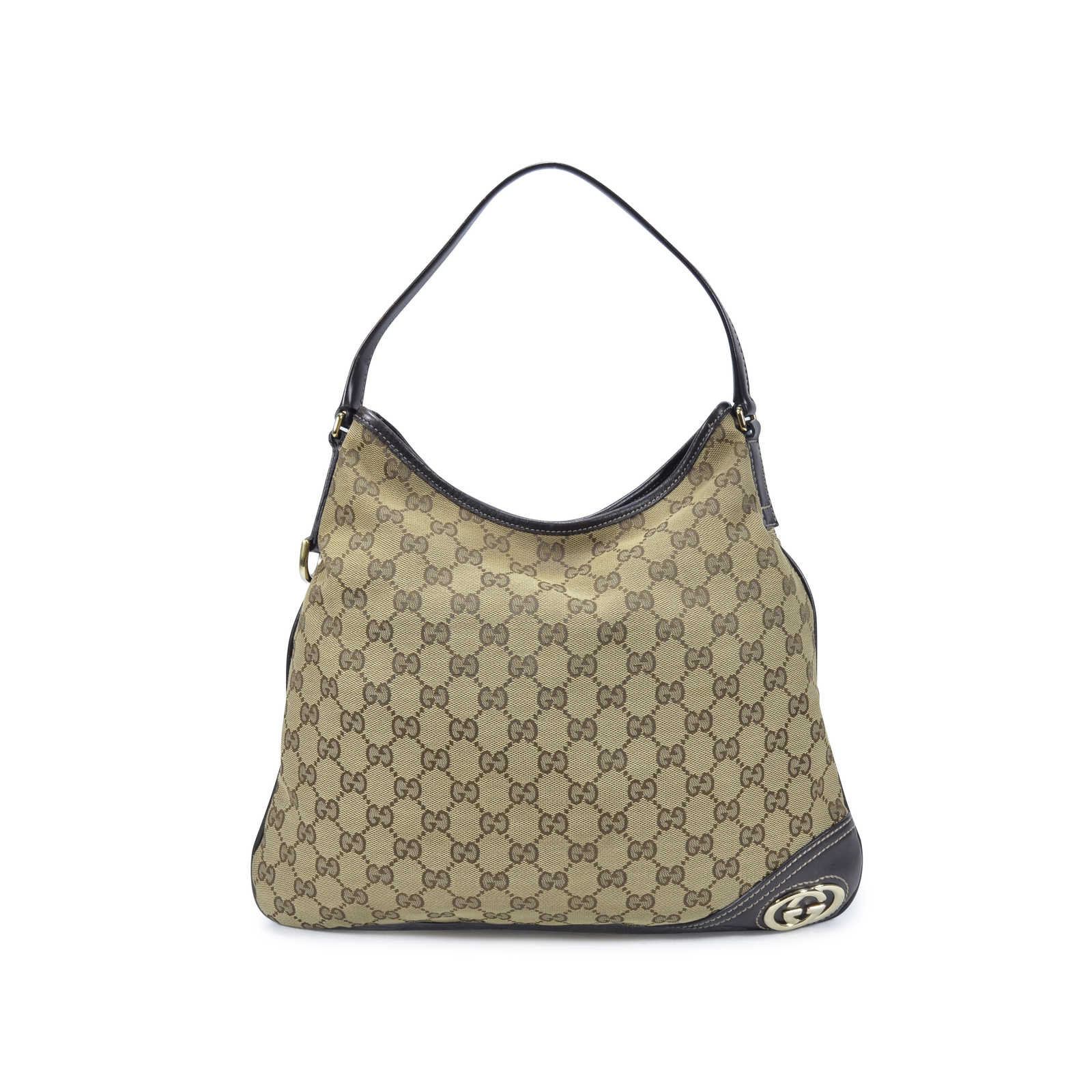67753d25bd91 Tap to expand · Authentic Second Hand Gucci Monogram Shoulder Bag  (PSS-350-00023) - Thumbnail ...
