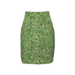 Morris Leaf Print Skirt