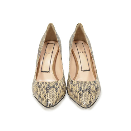 Authentic Second Hand N°21 Elaphe Sandy Pumps (PSS-346-00008)