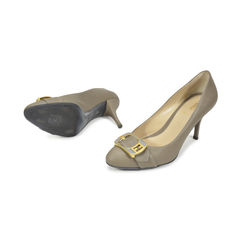 Fendi grey pumps 2?1496143081