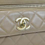 Authentic Second Hand Chanel Quilted Front Pocket Shoulder Bag (PSS-341-00009) - Thumbnail 3