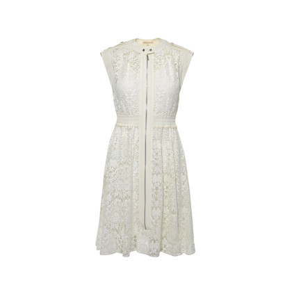 Authentic Second Hand Rebecca Taylor Floral Lace Dress (PSS-236-00023)