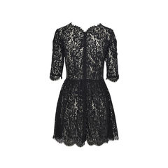 Lover black lace skater dress 2?1496292584