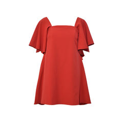 Mila Off-the-Shoulder Italian Cady Minidress