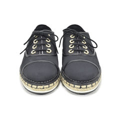 Lace-Up Espadrille Canvas Shoes