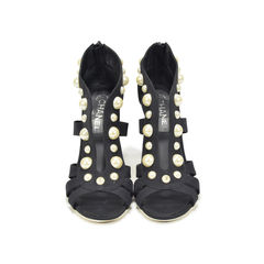 Pearl Studded Sandals