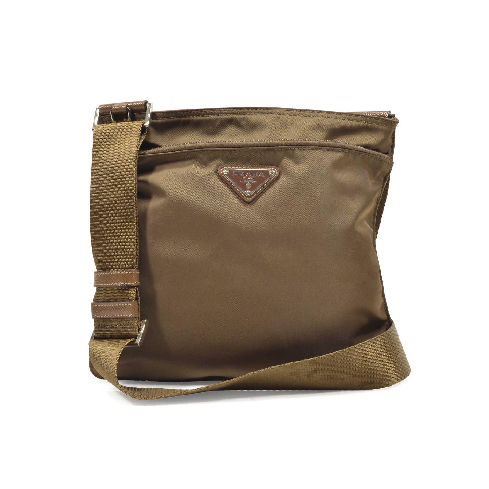 ac644d7b497aa0 Authentic Second Hand Prada Nylon Messenger Bag (PSS-351-00012) - Thumbnail  ...