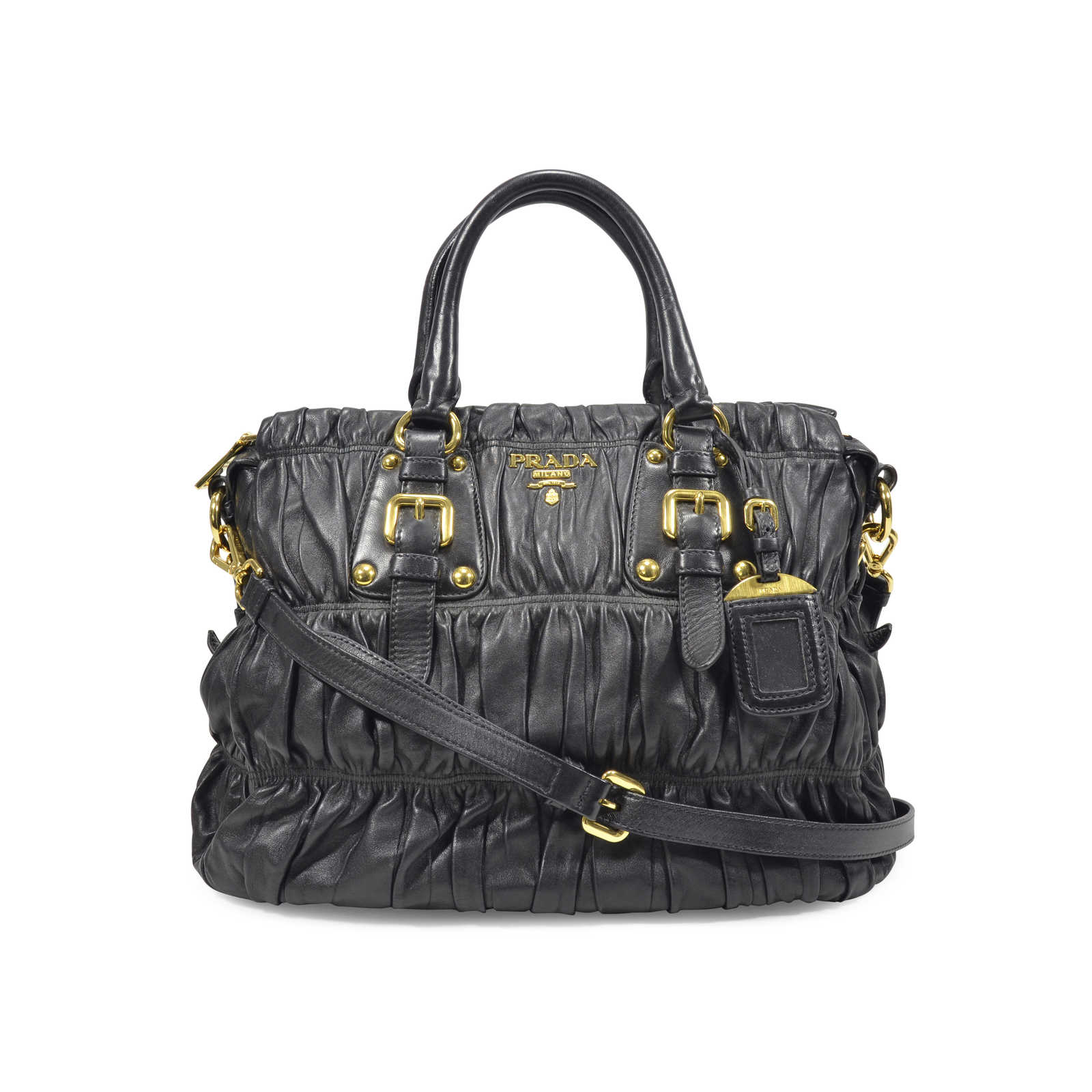 591f32ffdbf1 Authentic Second Hand Prada Nappa Gaufre Bag (PSS-358-00002) - Thumbnail ...