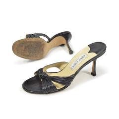 Jimmy choo cross mule sandals 2?1496807198