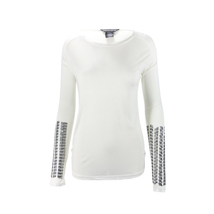 Authentic Second Hand Thomas Wylde Beaded Sleeve Top (PSS-088-00064)