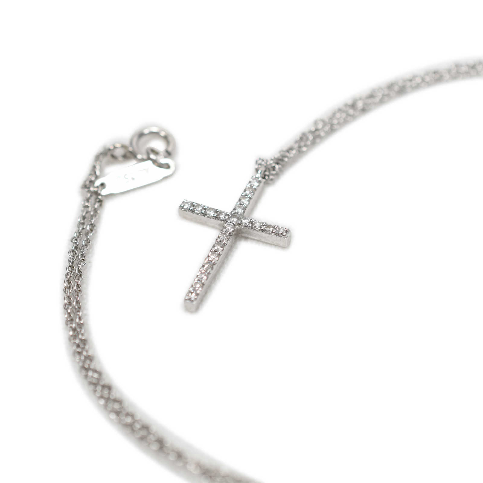 5a347981780 ... Authentic Second Hand Tiffany   Co Cross Pendant (PSS-197-00035) ...