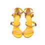 Authentic Second Hand Bottega Veneta Two-Tone Leather Sandals (PSS-287-00006) - Thumbnail 0
