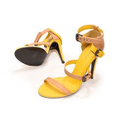 Bottega veneta two tone leather sandals 2?1497332015