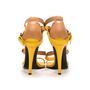Authentic Second Hand Bottega Veneta Two-Tone Leather Sandals (PSS-287-00006) - Thumbnail 4