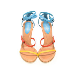 Turquoise Fire Sunset Calf Sandals