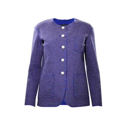 Chanel Pearl Button Tweed Jacket