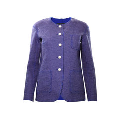Pearl Button Tweed Jacket