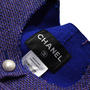Chanel Pearl Button Tweed Jacket - Thumbnail 2