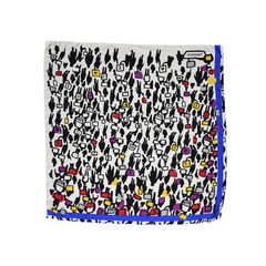 Chanel graphic print scarf 2?1497863426