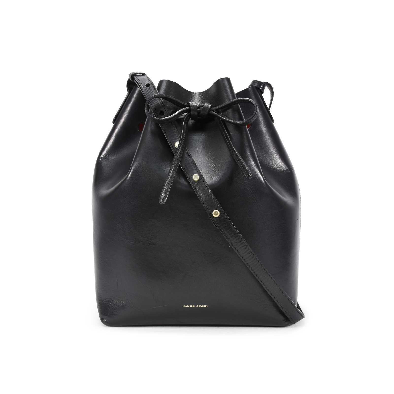 3b62f6d33a50f Authentic Second Hand Mansur Gavriel Flamma Bucket Bag (PSS-356-00003) ...