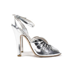 Miu miu metallic leather sandals 2?1497956251