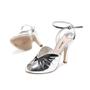 Miu Miu Metallic Leather Sandals - Thumbnail 3