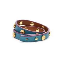 Tory burch double wrap logo stud bracelet 2?1498023794