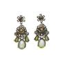 Shourouk Neon Crystal Ds Earrings - Thumbnail 1
