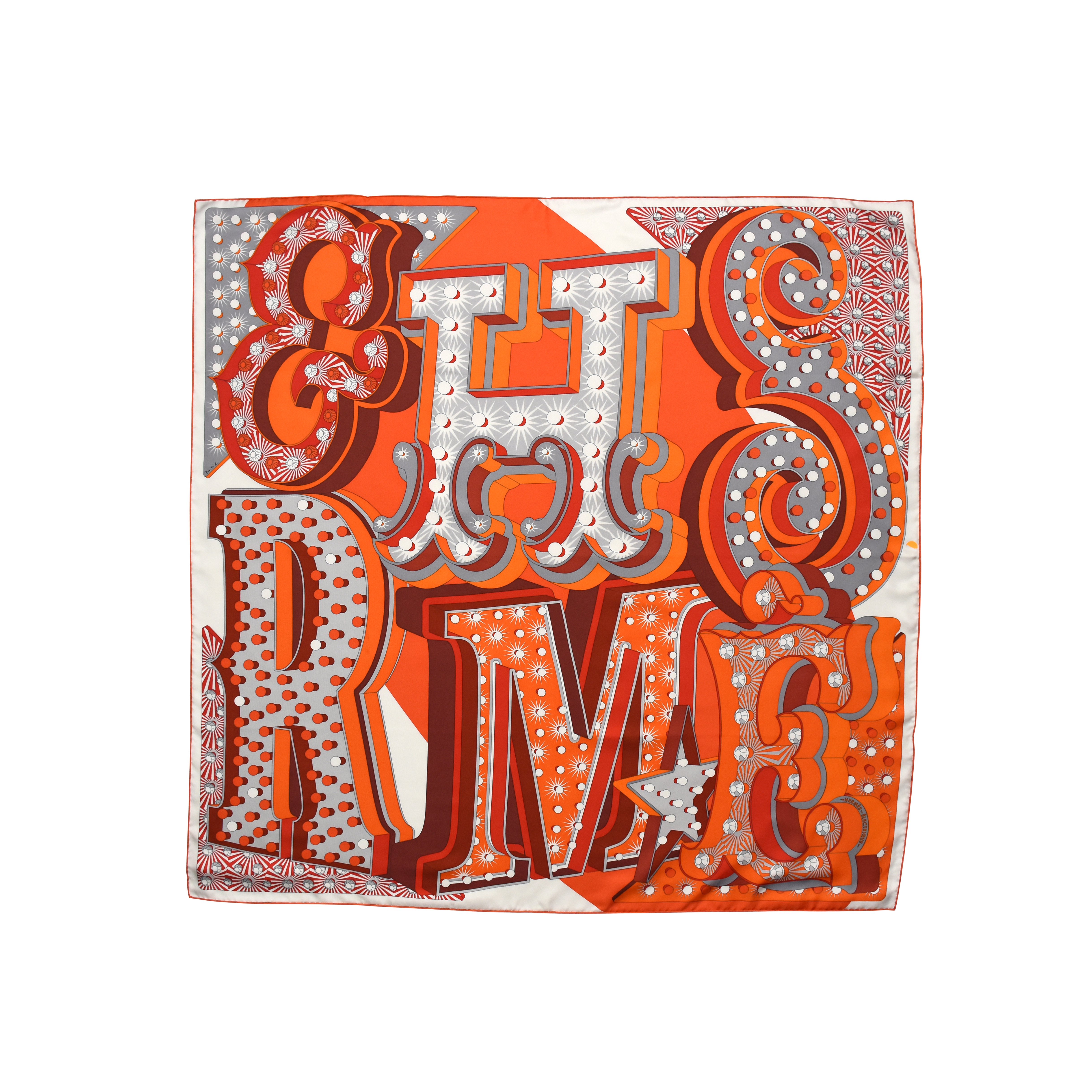 second hand hermes electrique scarf the fifth collection. Black Bedroom Furniture Sets. Home Design Ideas