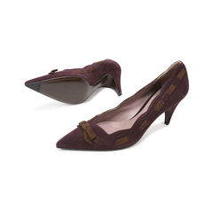 Miu miu suede ribbon pumps 2?1498104506