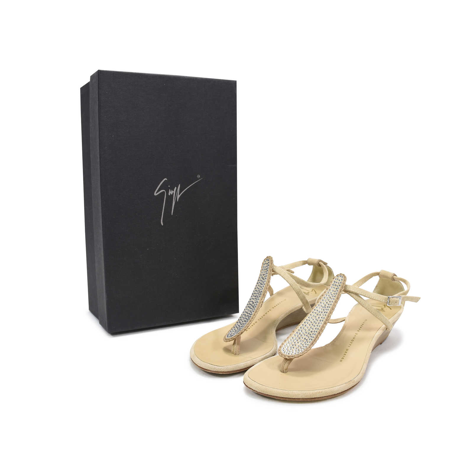 51c6092a3eea4 ... Authentic Second Hand Giuseppe Zanotti Rock 10 Infradito Sandals  (PSS-369-00011)