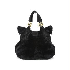 Shanghai tang fur shoulder bag 2?1498104924