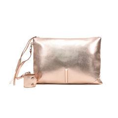 Barnett Metallic Wrist Bag